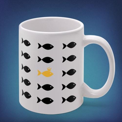 Кружка Рыба моя, золотая!