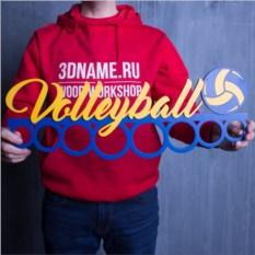 Спортивная медальница Волейбол