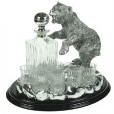 Подарочный набор для крепких напитков Медведь