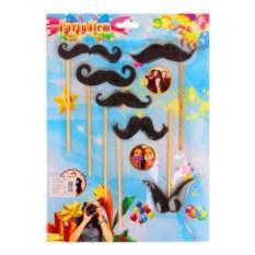 Карнавальный набор для фотосессии Гламурные усы