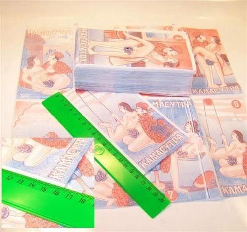 Салфетки бумажные Камасутра