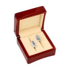 Серебряные запонки с гравировкой