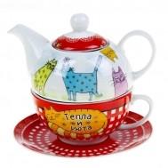Подарочный чайный набор «Тепла и уюта»