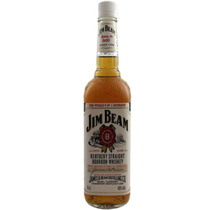 Jim Beam. Kentucky Straight Bourbon Whiskey