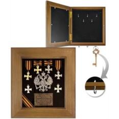 настенная ключница Георгиевский крест