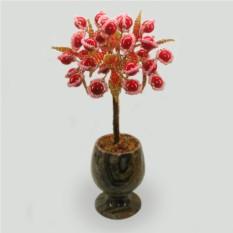 Дерево из коралла Красный цвет любви