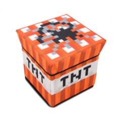 Пуфик TNT блок из Minecraft
