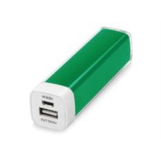 Зеленое портативное зарядное устройство Ангра