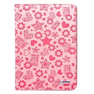 Чехол для iPad mini Flowers and Stars (розовый)