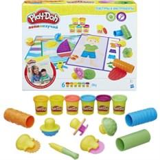 Игровой набор Play-Doh Текстуры и инструменты