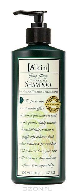 Шампунь Иланг-Иланг, для окрашенных волос и волос с химической завивкой, 500 мл