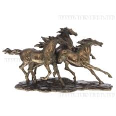 Декоративная фигура Три лошади
