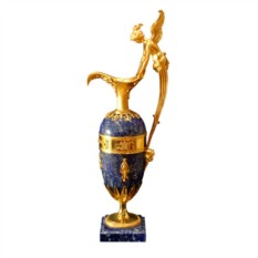 Интерьерная ваза из лазурита Кувшин