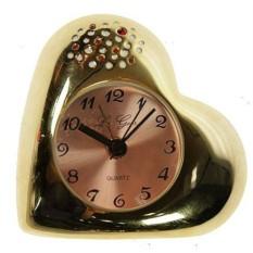 Часы-будильник Золотое сердце