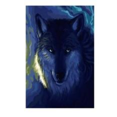 Картина по номерам Волк