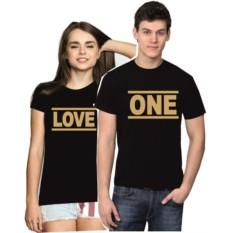 Парные футболки для двоих Love one
