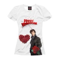Женская футболка От Шерлока с любовью