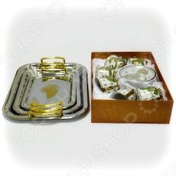 Чайный сервиз LORAINE и набор подносов MAYER BOCH
