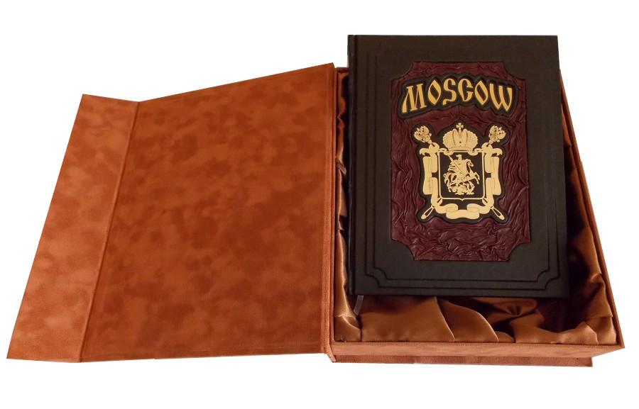 Подарочное издание в футляре «Москва на английском языке»