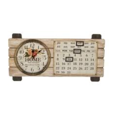 Коллаж-часы Календарь