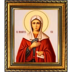 Икона на холсте Ева Святая праматерь