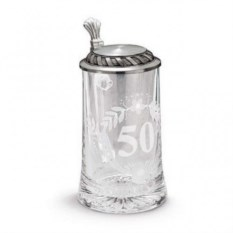 Пивная кружка 50 лет на 0,5 л