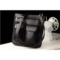 Кожаная сумка через плечо Brialdi Chester (цвет — черный)