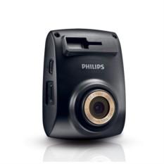Видеорегистратор автомобильный Philips ADR610, черный