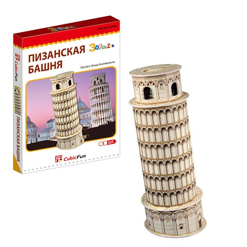 3D пазл Cubic Fun Пизанская башня (Италия)