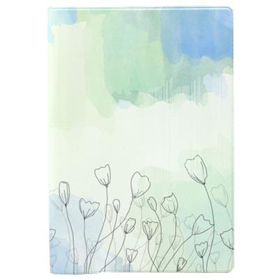 Обложка на документы Flowers