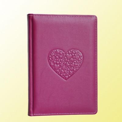 Кожаный ежедневник «Сердце»