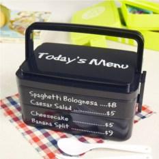 Тройной герметичный ланчбокс  для микроволновки Today menu