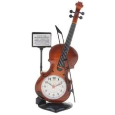 Часы-будильник Скрипка