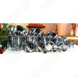 Комплект посуды «Хозяюшка» 21 предмет