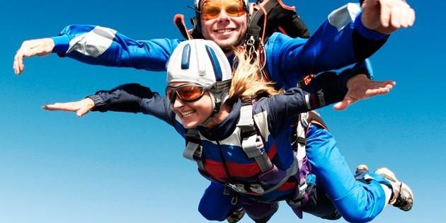 Сертификат Обучение парашютному спорту