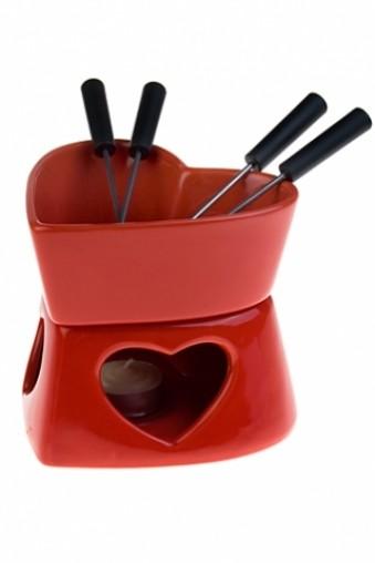 Набор для шоколадного фондю Сердце