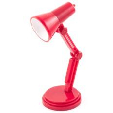 Красный светильник для чтения книг