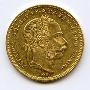 Монета «Венгрия 8 форинтов»