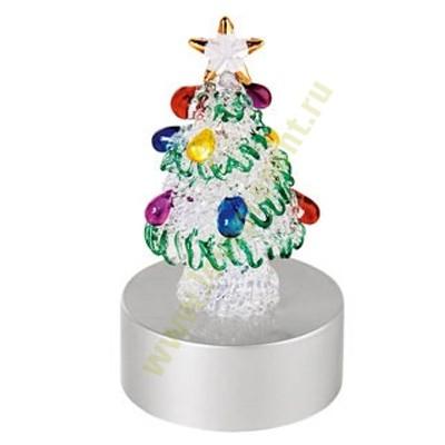 Сказочная новогодняя елка с меняющей цвет подсветкой