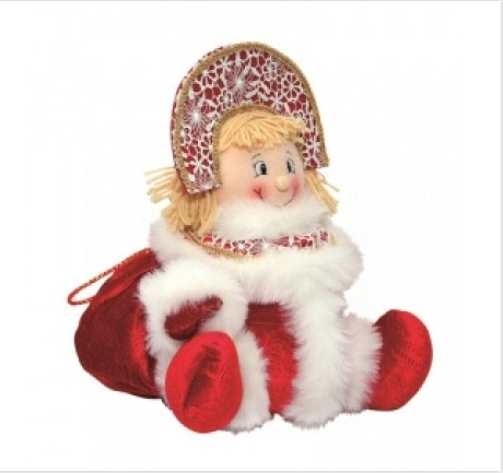 Новогодний подарок с конфетами Внучка Снегурочка