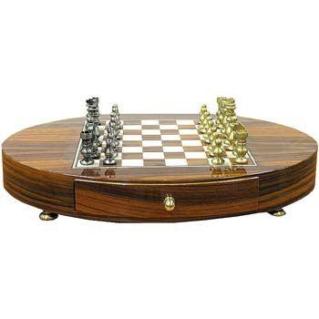 Шахматы Staunton medio ottone