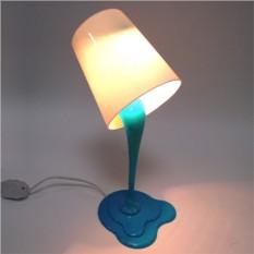 Светильник Вытекающая синяя краска