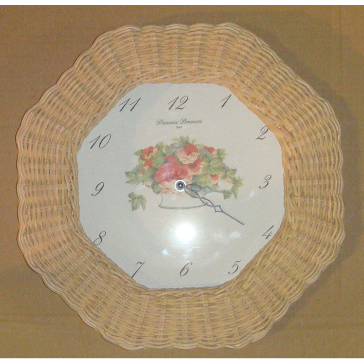 Часы настенные Diamantini Domeniconi, плетенные