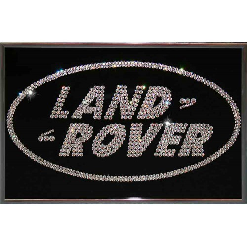 Картина Сваровски Land Rover