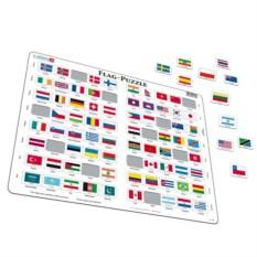 Пазл Larsen «Флаги»