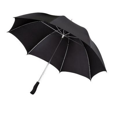 Зонт-трость Slazenger механический, черный