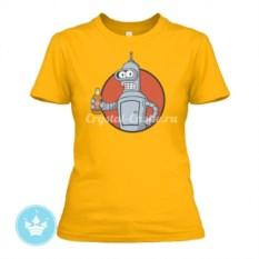 Женская футболка Vault Bot