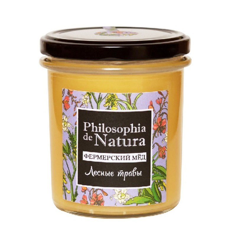 Фермерский мед Лесные травы от Philosophiya de natura