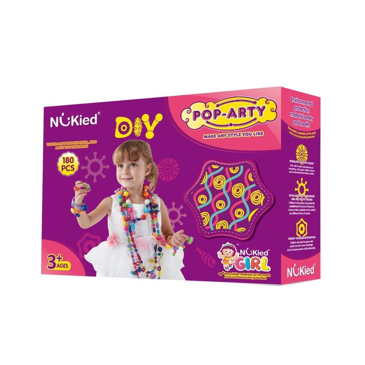 Набор для творчества Детский бисер Pop Arty в коробке