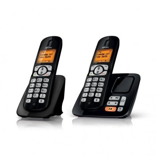Беспроводной телефон Philips DECT с автоответчиком CD2852B/RU